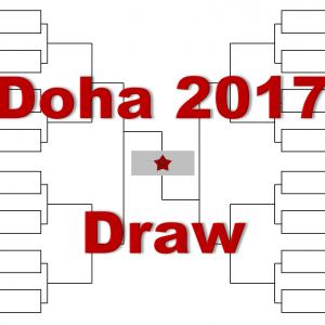 ドーハ「カタール・エクソンモービル・オープン」2017年トーナメント表(ドロー)結果あり:マレー、ジョコビッチ出場