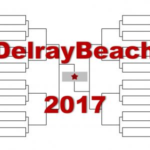 「デルレイビーチ・オープン」2017年トーナメント表(ドロー)結果あり:ラオニッチ、デルポトロ出場