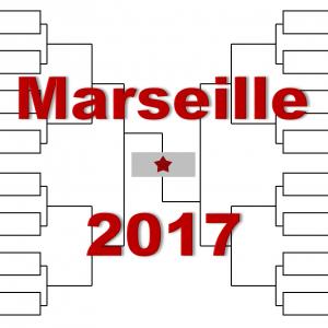 マルセイユ「オープン13」2017年トーナメント表(ドロー)結果あり:モンフィス、キリオス出場
