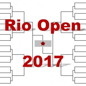 「リオ・オープン」2017年トーナメント表(ドロー)結果あり:錦織圭、ティーム出場