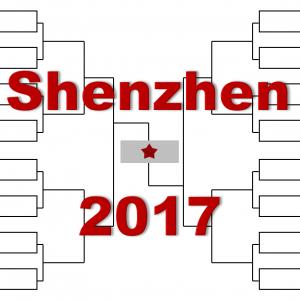 「深センオープン」2017年トーナメント表(ドロー)結果あり:Aズべレフ・ゴファン他出場