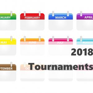 2018年 国際大会カレンダー(ATP・グランドスラム・デビスカップ)