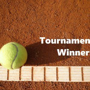 大会結果(優勝・準優勝):世界テニス男子シングルス