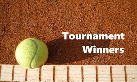 テニス男子シングルス大会結果(優勝・準優勝)