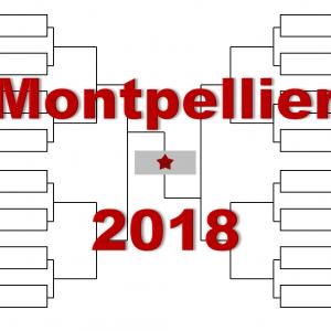 モンペリエ「南フランス・オープン」2018年トーナメント表(ドロー)結果あり:杉田・ゴファン・ツォンガ他出場