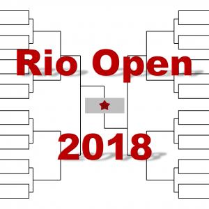 「リオ・オープン」2018年トーナメント表(ドロー)結果あり:チリッチ・ティーム他出場