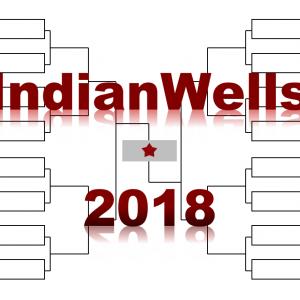 インディアンウェルズ「BNPパリバ・オープン」2018年トーナメント表(ドロー)結果あり:フェデラー・チリッチ他出場