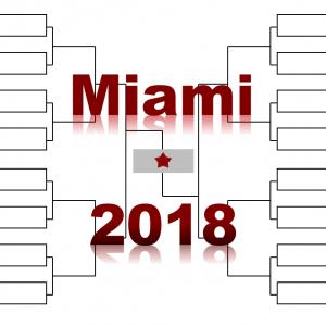 「マイアミ・オープン」2018年トーナメント表(ドロー)結果あり:錦織圭・フェデラー・ジョコ出場