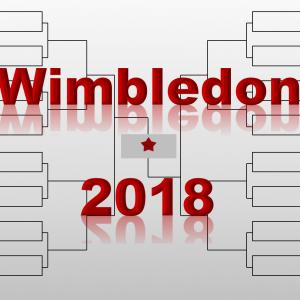 「ウィンブルドン」2018年トーナメント表(ドロー)結果あり:BIG4・錦織圭他トップ選手集結