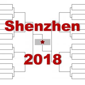 「深センオープン」2018年トーナメント表(ドロー)結果あり:マレー・ゴファン他出場