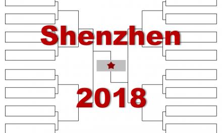 「深センオープン」2018年トーナメント表(ドロー)結果あり