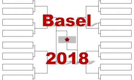 バーゼル「スイス・インドアーズ・バーゼル」2018年トーナメント表(ドロー)結果あり