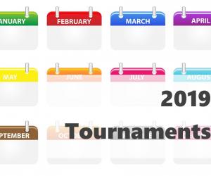 2019年 国際大会カレンダー(ATP・グランドスラム・デビスカップ)