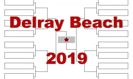 「デルレイビーチ・オープン」2019年トーナメント表(ドロー)結果あり