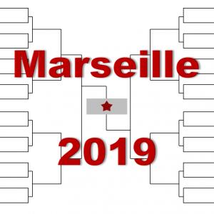 マルセイユ「オープン13」2019年トーナメント表(ドロー)結果あり:チチパス・チョリッチ他出場