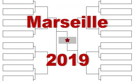 マルセイユ「オープン13」2019年トーナメント表(ドロー)結果あり