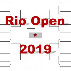 「リオ・オープン」2019年トーナメント表(ドロー)結果あり:ティーム・フォニーニ他出場