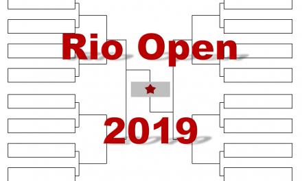 「リオ・オープン」2019年トーナメント表(ドロー)結果あり