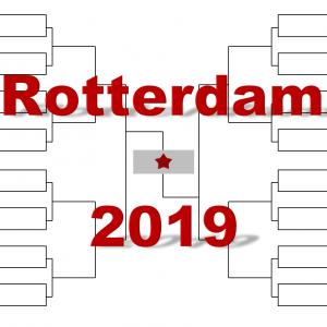 ロッテルダム「ABN AMRO ワールド・テニス」2019年トーナメント表(ドロー)結果あり:錦織圭・チチパス他出場
