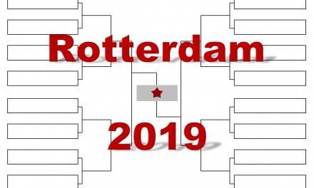 ロッテルダム「ABN AMRO ワールド・テニス」2019年トーナメント表(ドロー)結果あり