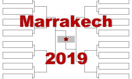 マラケシュ「ハッサン2世グランプリ」2019年トーナメント表(ドロー)結果あり