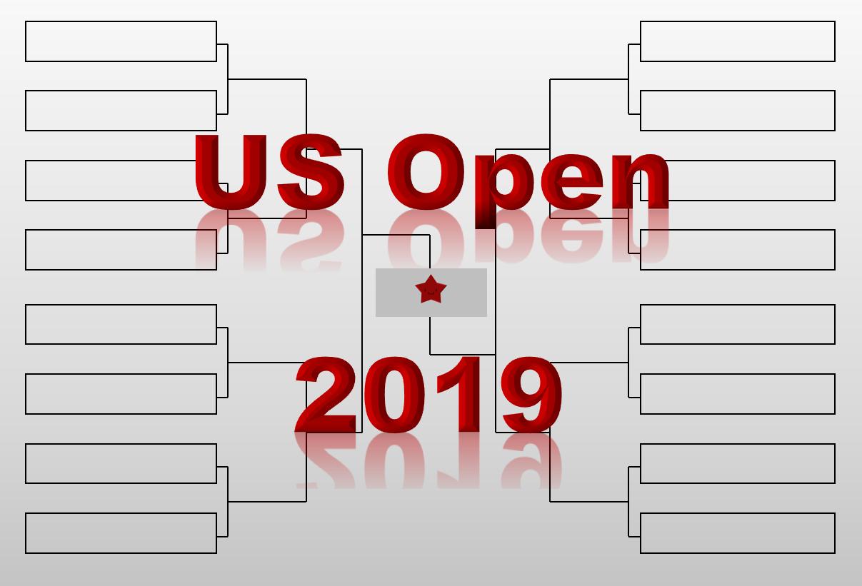 全米 オープン テニス 2019 ドロー