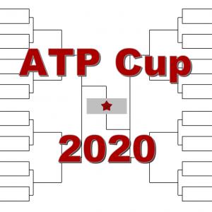 「ATPカップ」2020年ドロー・結果あり:ナダル・ジョコビッチ・ティーム・メドベデフ他集結