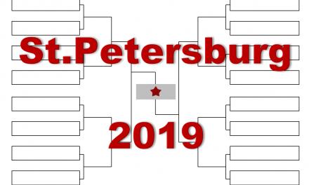 「サンクトペテルブルク・オープン」2019年トーナメント表(ドロー)結果あり