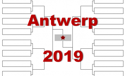 アントワープ「ヨーロピアン・オープン」2019年トーナメント表(ドロー)結果あり