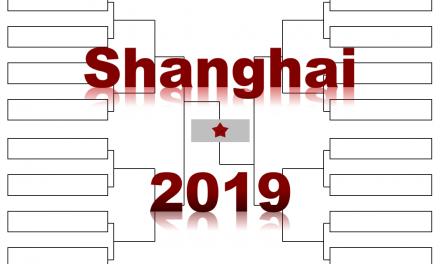 「上海マスターズ」2019年トーナメント表(ドロー)結果あり