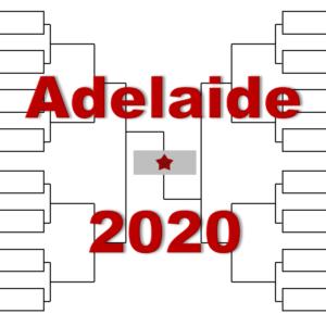 「アデレード国際」2020年トーナメント表(ドロー)結果あり:Aアリアシム・ルブレフ他出場