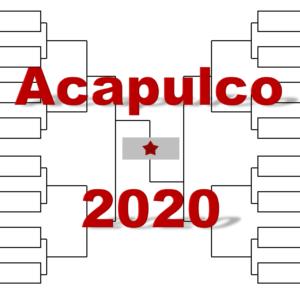 アカプルコ「アビエルト・メキシカーノ・テルセル」2020年トーナメント表(ドロー)結果あり:ナダル・Aズベレフ他出場