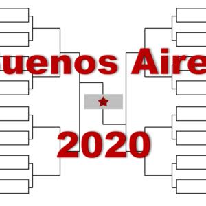 ブエノスアイレス「アルゼンチン・オープン」2020年トーナメント表(ドロー)結果あり:シュワルツマン・ペラ他出場
