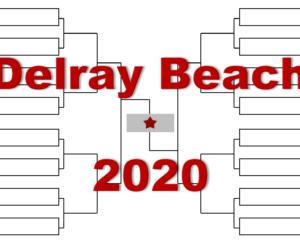 「デルレイビーチ・オープン」2020年トーナメント表(ドロー)結果あり:ラオニッチ・西岡良仁他出場