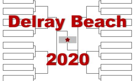 「デルレイビーチ・オープン」2020年トーナメント表(ドロー)結果あり