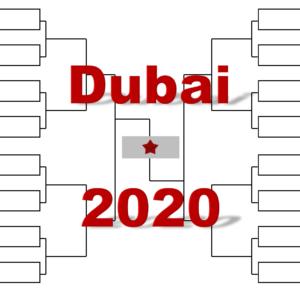 「ドバイ・デューティフリー・テニス選手権」2020年トーナメント表(ドロー)結果あり:ジョコビッチ・チチパス他出場