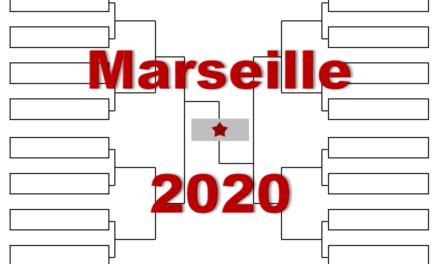 マルセイユ「オープン13」2020年トーナメント表(ドロー)結果あり