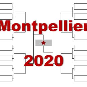 モンペリエ「南フランス・オープン」2020年トーナメント表(ドロー)結果あり:モンフィス・ゴファン・シャポバロフ他出場