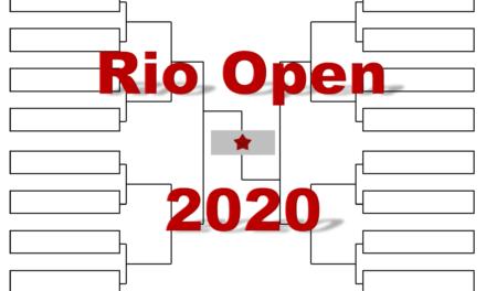「リオ・オープン」2020年トーナメント表(ドロー)結果あり