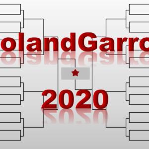 「全仏オープン」2020年トーナメント表(ドロー)結果あり・全出場選手:ジョコビッチ・ナダル・錦織圭他出場