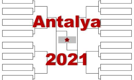 「アンタルヤ・オープン」2021年全出場選手・トーナメント表(ドロー)結果あり