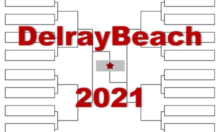 「デルレイビーチ・オープン」2021年全出場選手・トーナメント表(ドロー)結果あり