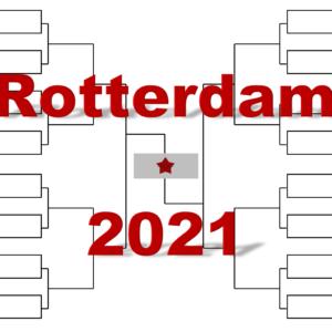 ロッテルダム「ABN AMRO ワールド・テニス」2021年トーナメント表(ドロー)結果あり・全出場選手:錦織圭・メドベデフ他集結