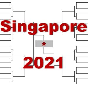 「シンガポール・オープン」2021年トーナメント表(ドロー)結果あり・全出場選手:望月慎太郎デビュー!マナリノ・チリッチ・西岡他出場