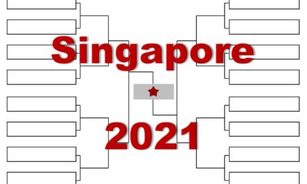 「シンガポール・オープン」2021年全出場選手・トーナメント表(ドロー)結果あり