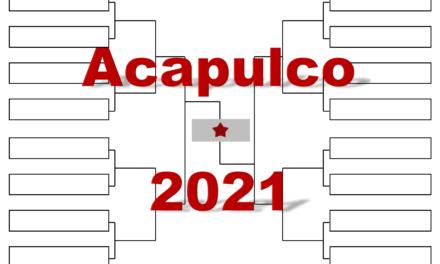 アカプルコ「アビエルト・メキシカーノ・テルセル」2021年全出場選手・トーナメント表(ドロー)結果あり