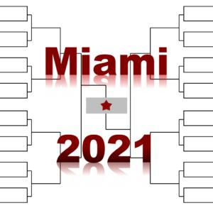 「マイアミ・オープン」2021年全出場選手:ジョコビッチ・ナダル・錦織圭他集結