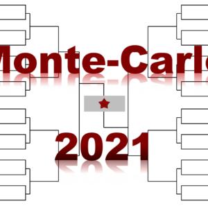 モンテカルロ「Rolexモンテカルロ・マスターズ」2021年トーナメント表(ドロー)結果あり・全出場選手:ジョコビッチ・ナダル他集結